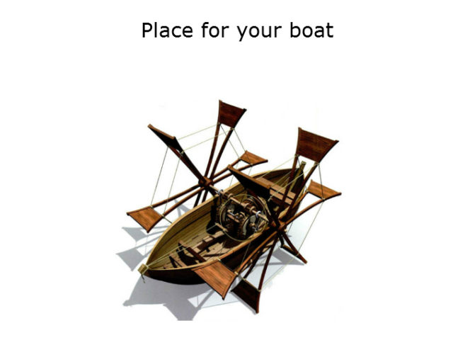 Place for your boat